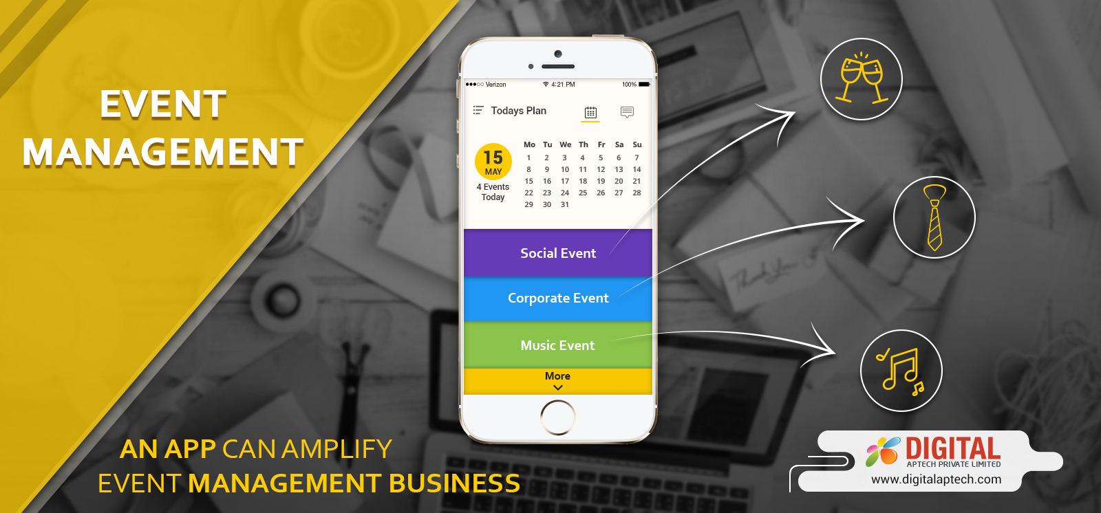 Importance of Mobile Apps for Event Management Business