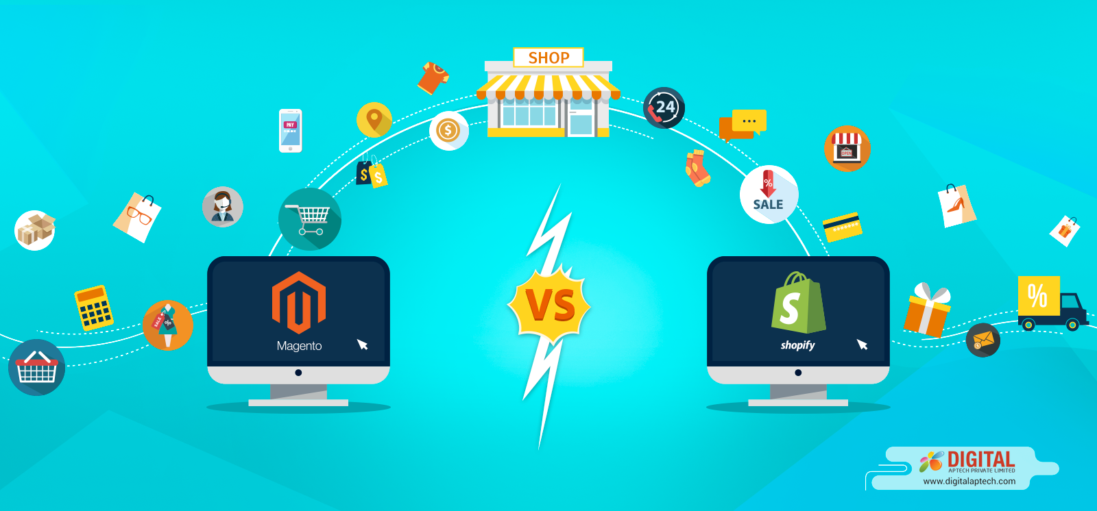 Magento Vs. Shopify – Which is the Best for You?