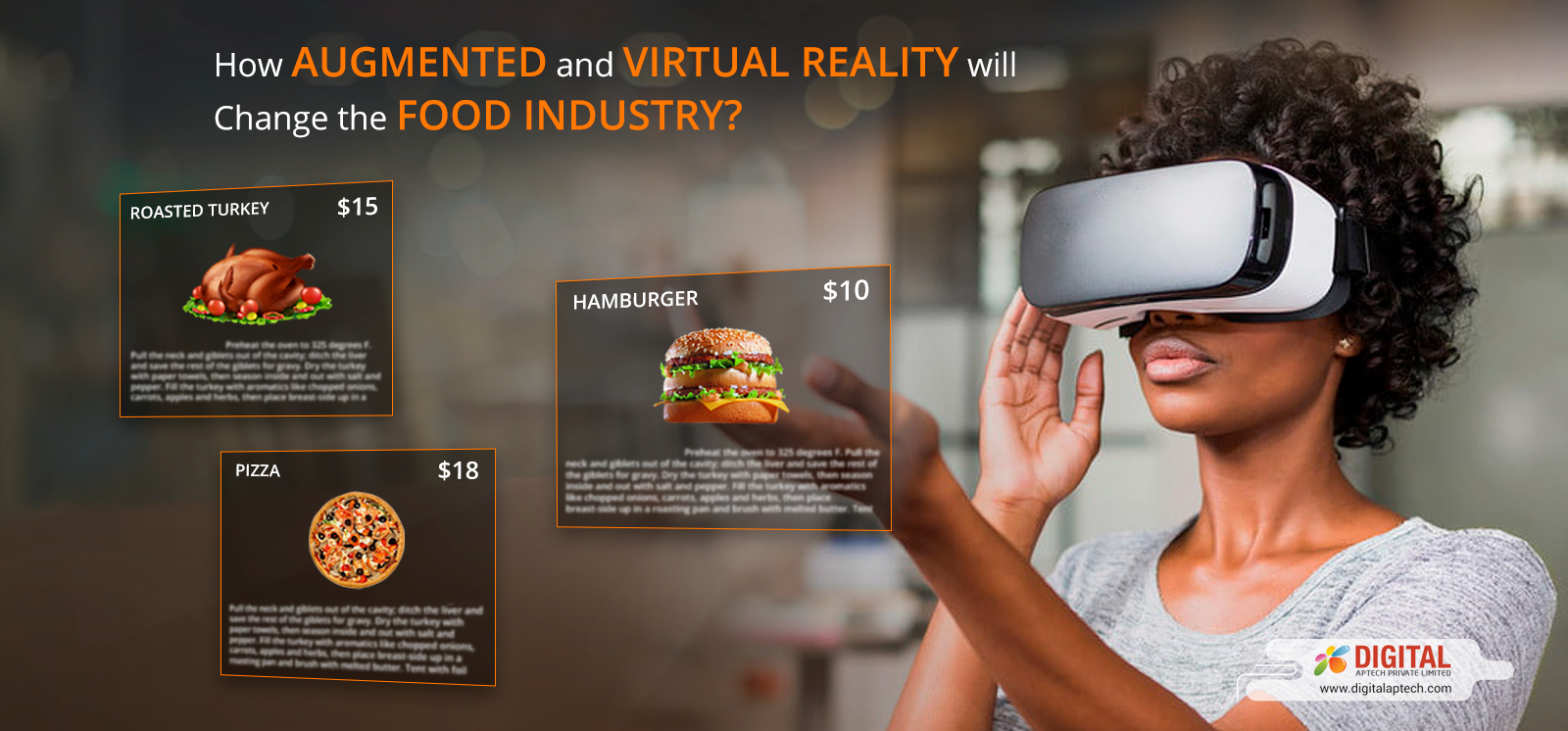 How Augmented and Virtual Reality is Changing the Food Industry?