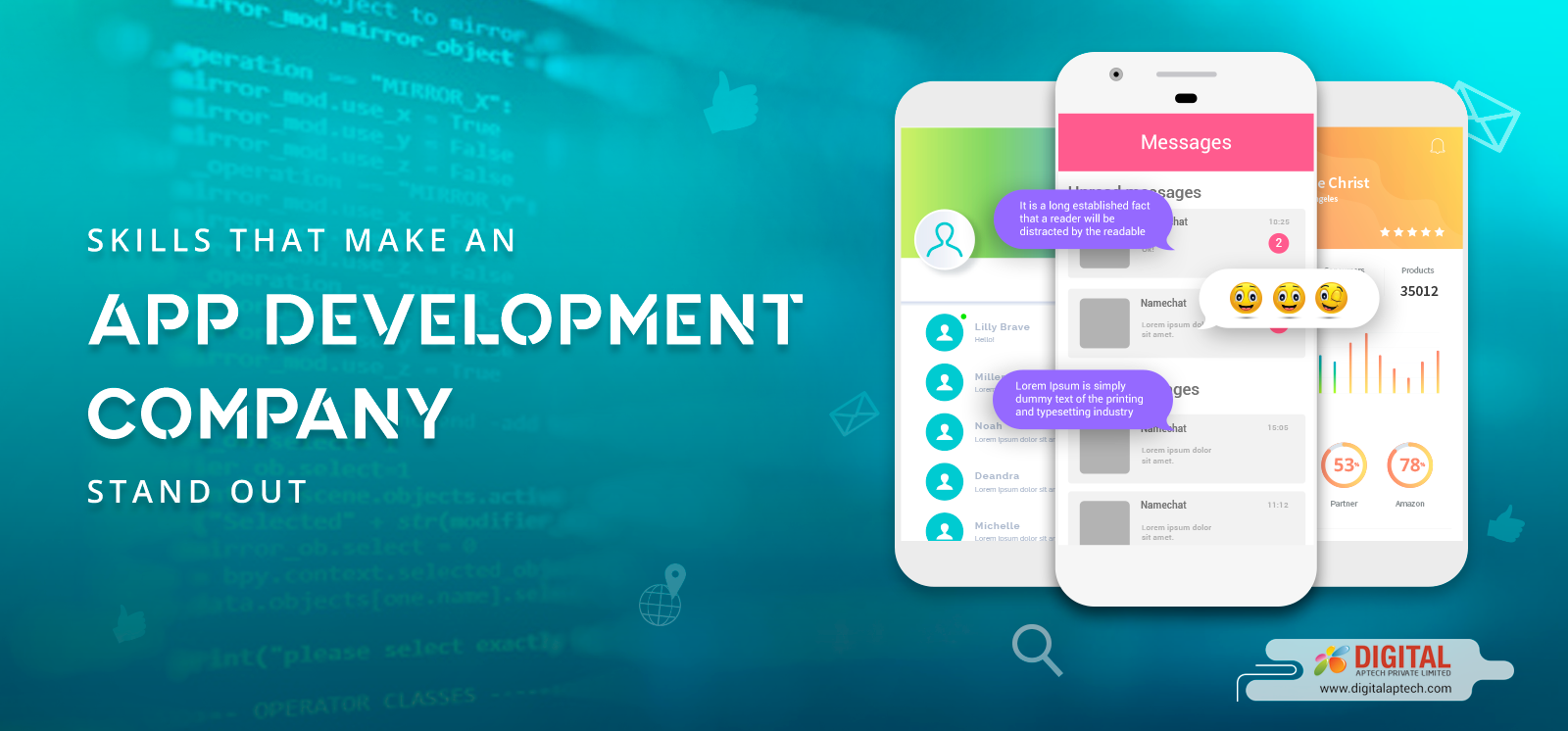 Skills of an App Development Company that You Should Consider Before Hiring
