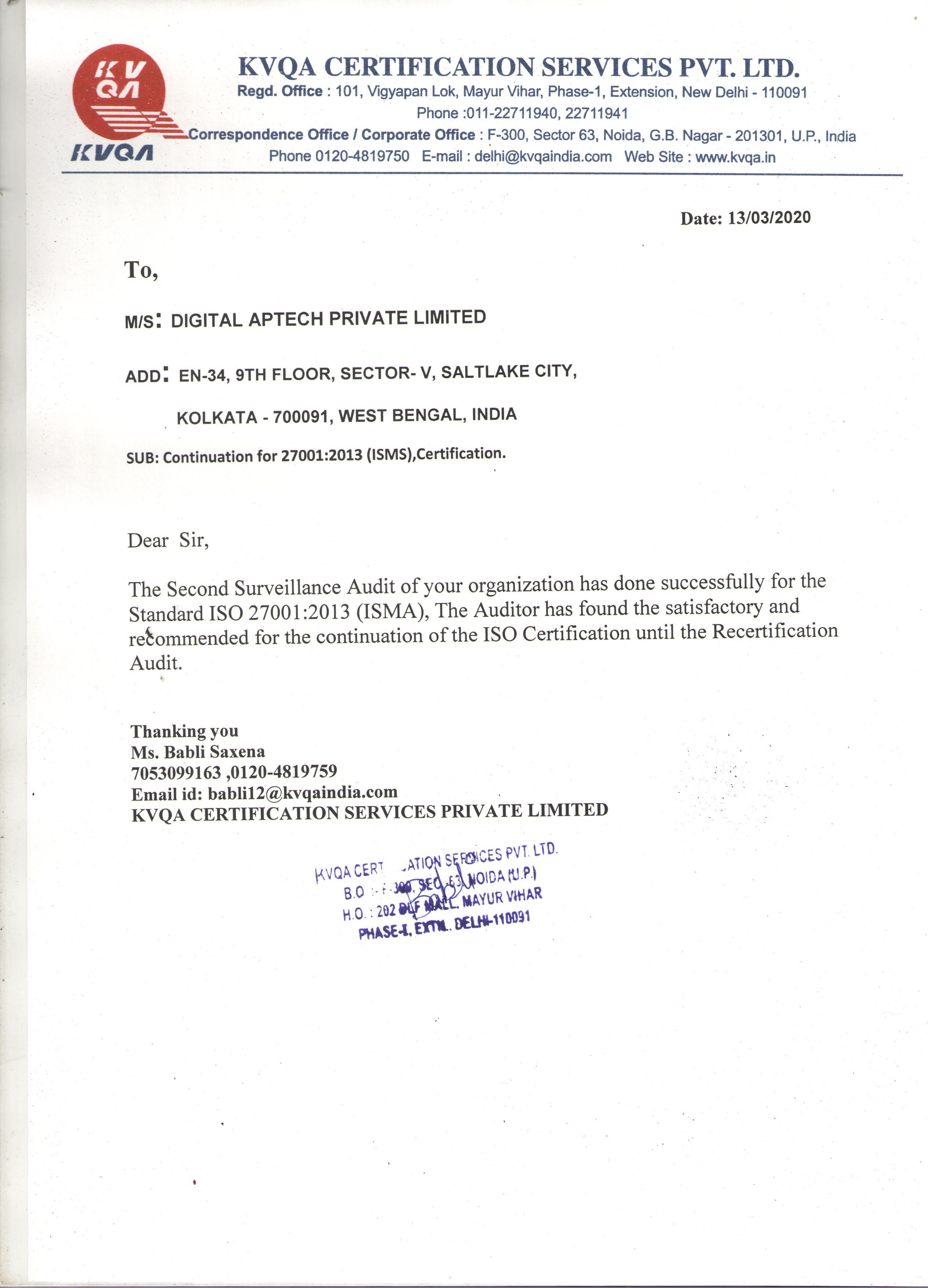 digitalaptech-27001-certificate