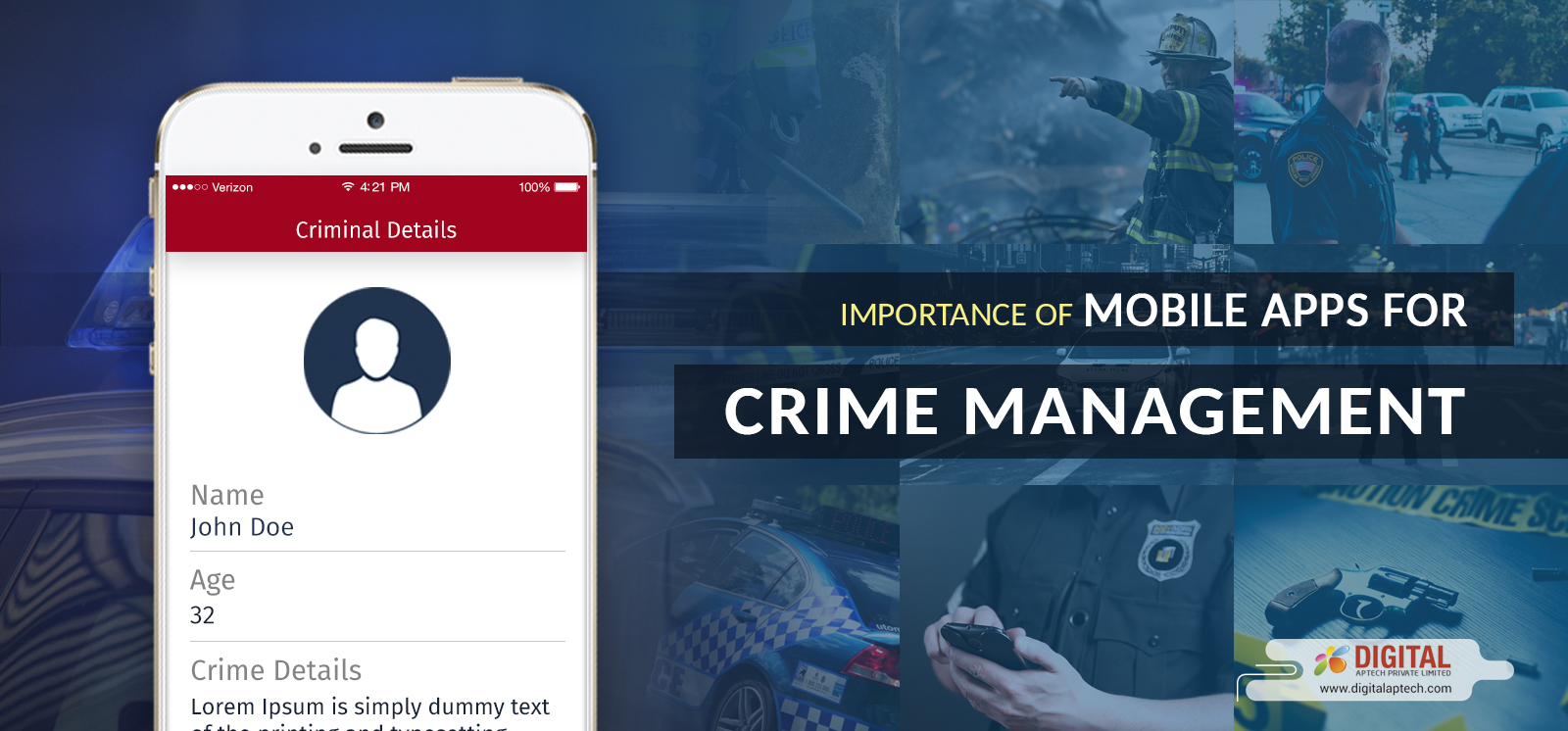 Why Mobile Apps are Essential for Crime Management?