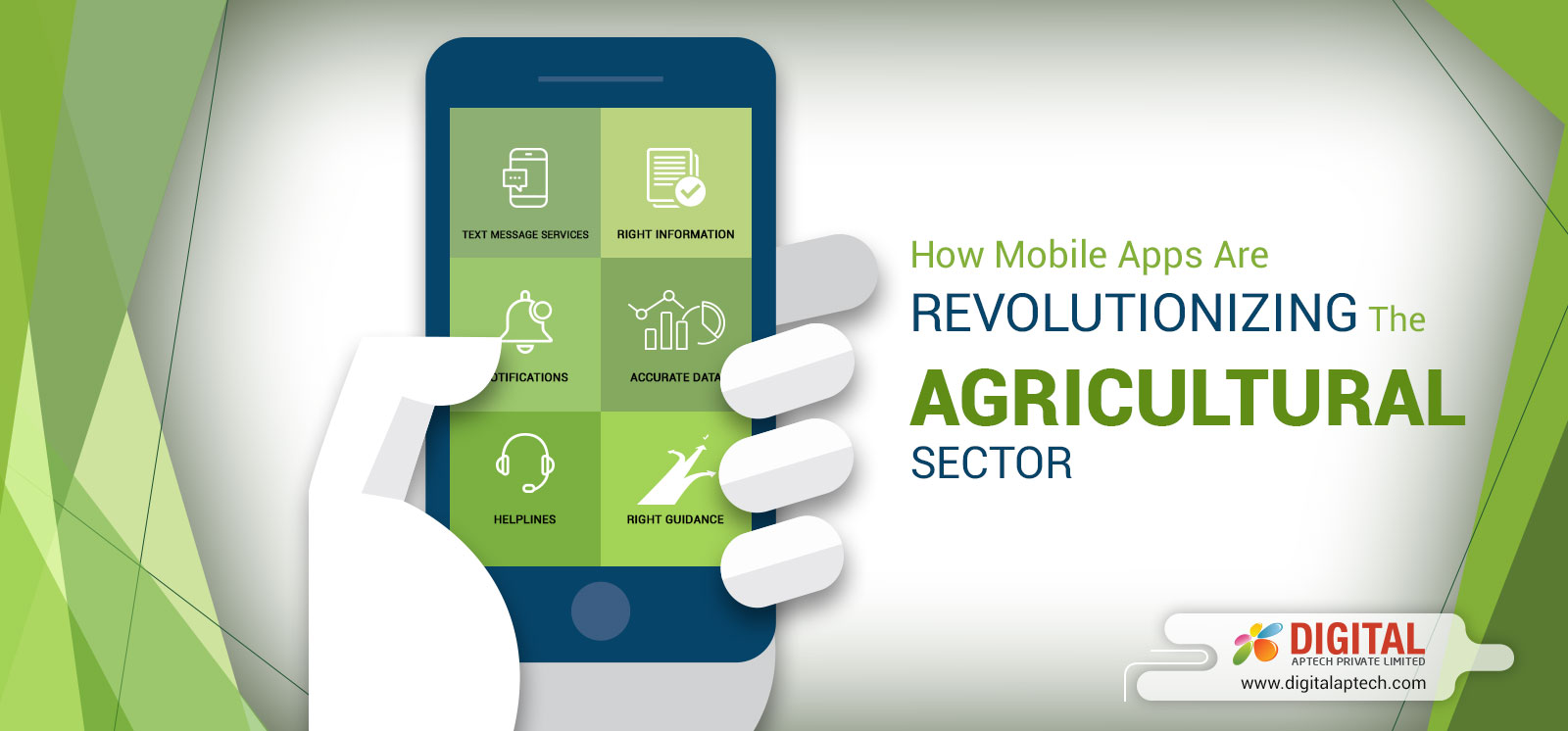 How Mobile App Technology has Become the Indispensable Part of the Farming Industry