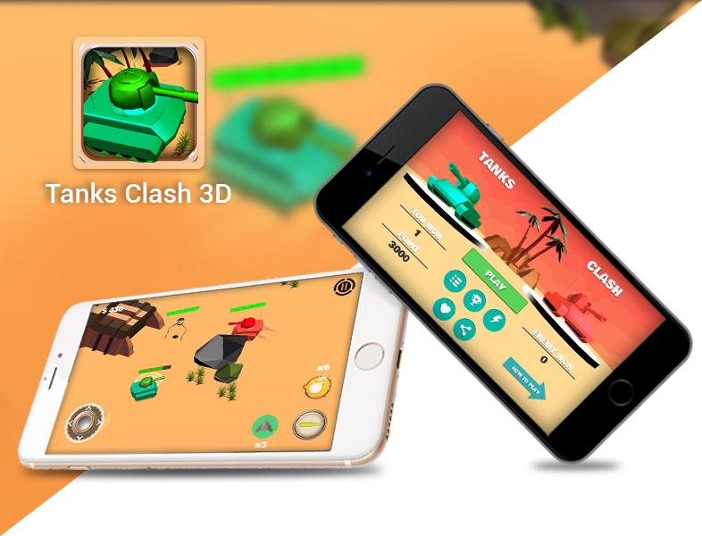 Tanks Clash 3D