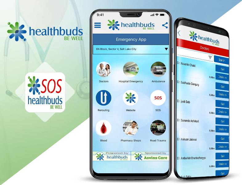 Healthbuds SOS