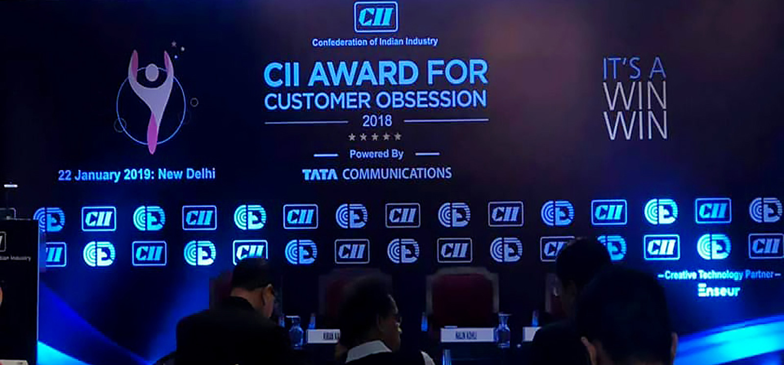 Digital Aptech Pvt. Ltd. Bags the Prestigious CII Award for Customer Obsession 2018