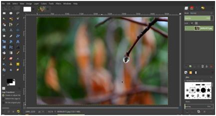 GIMP cross platform image editor