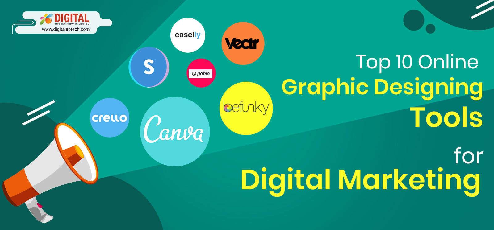 Top 10 Online Graphic Designing Tools for Digital Marketing