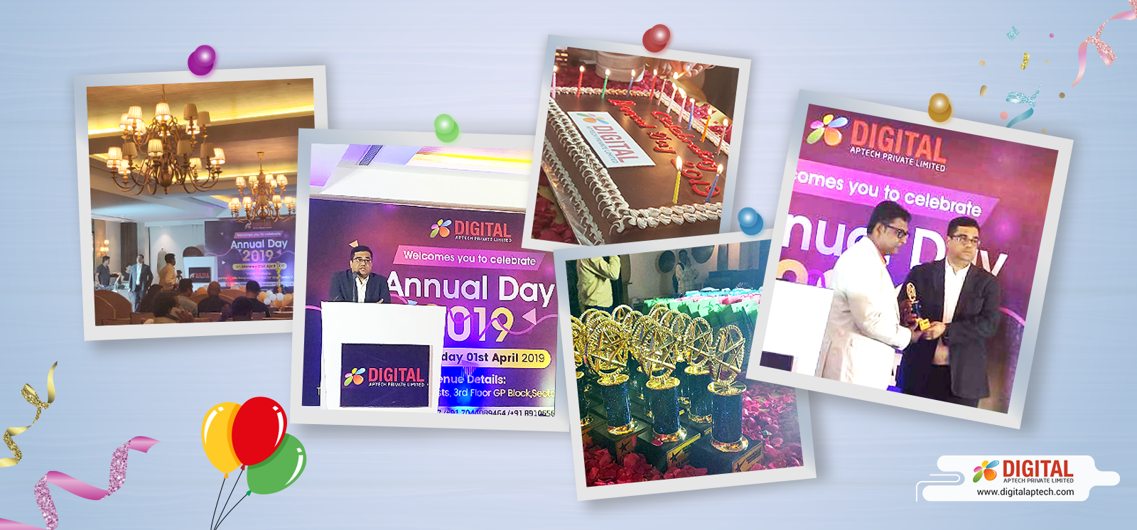 The Joyous Celebration of Digital Aptech's 7th Foundation Day