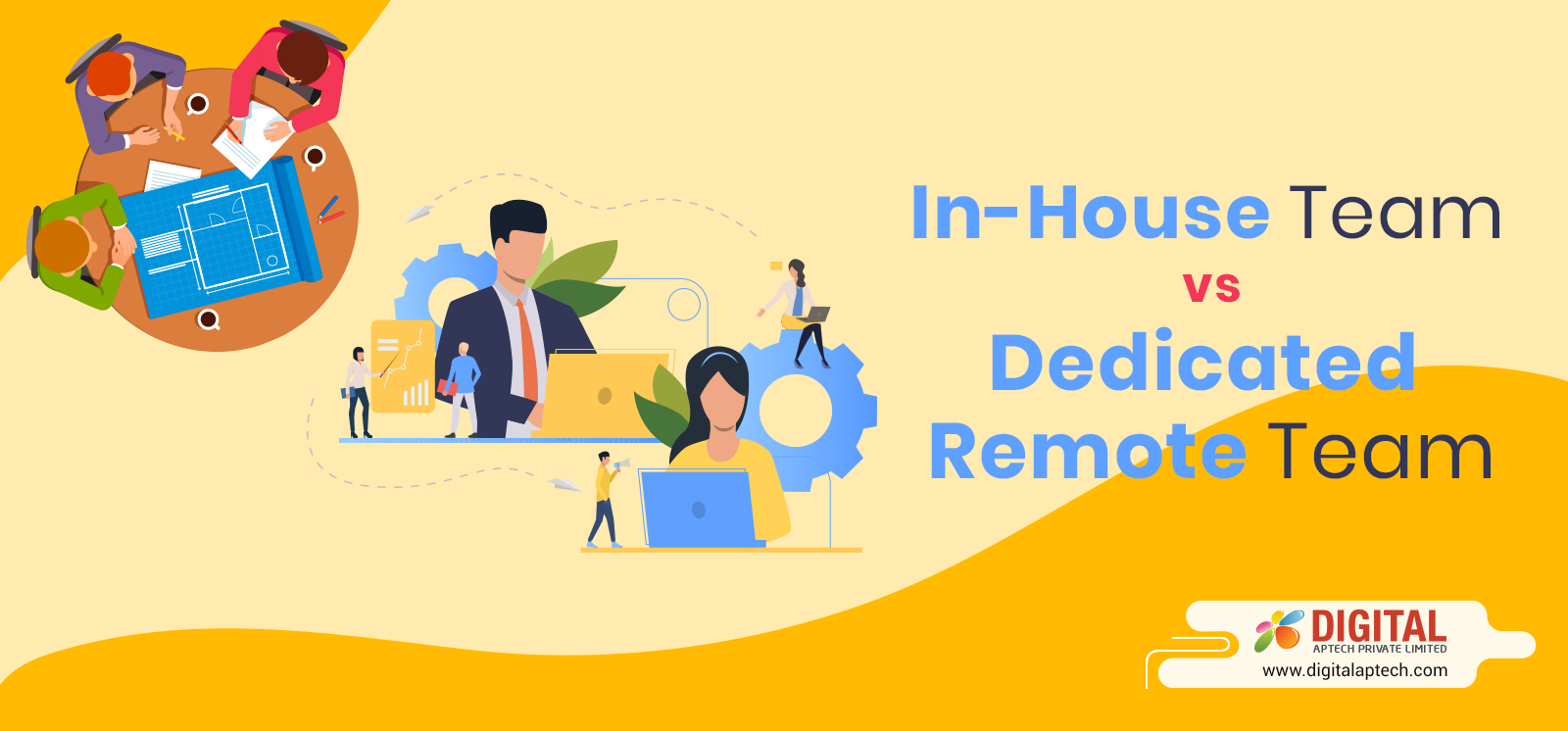 In-House Team or a Team of Dedicated Remote Developers – What to Choose?