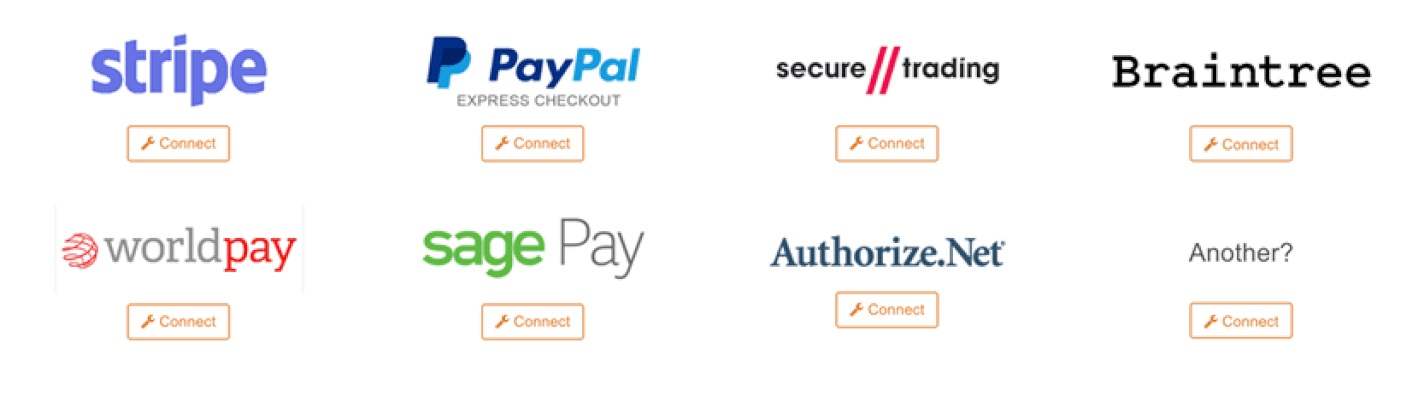 available payment gateways