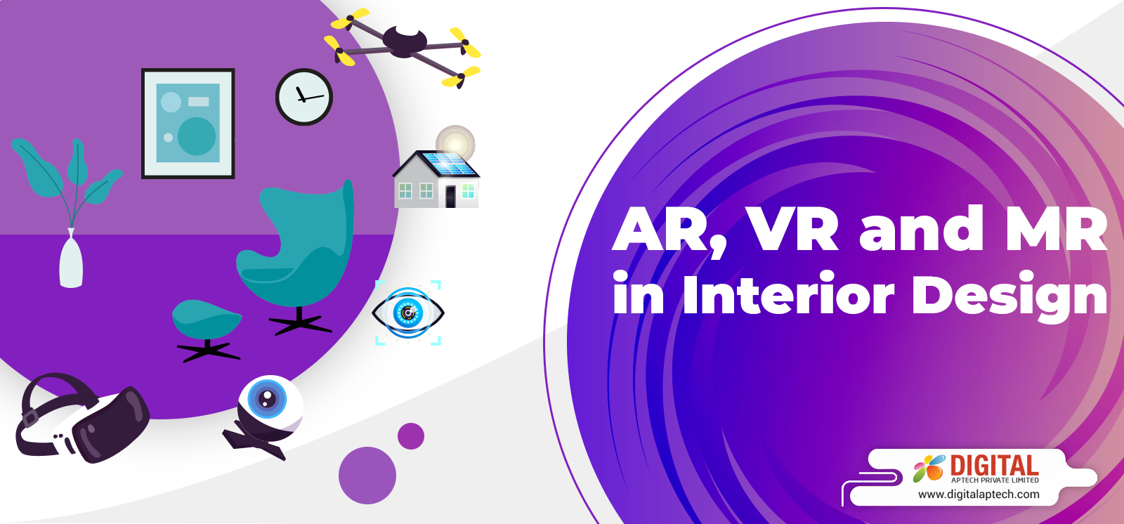 How AR, VR and MR are Revolutionizing the Field of Interior Design?