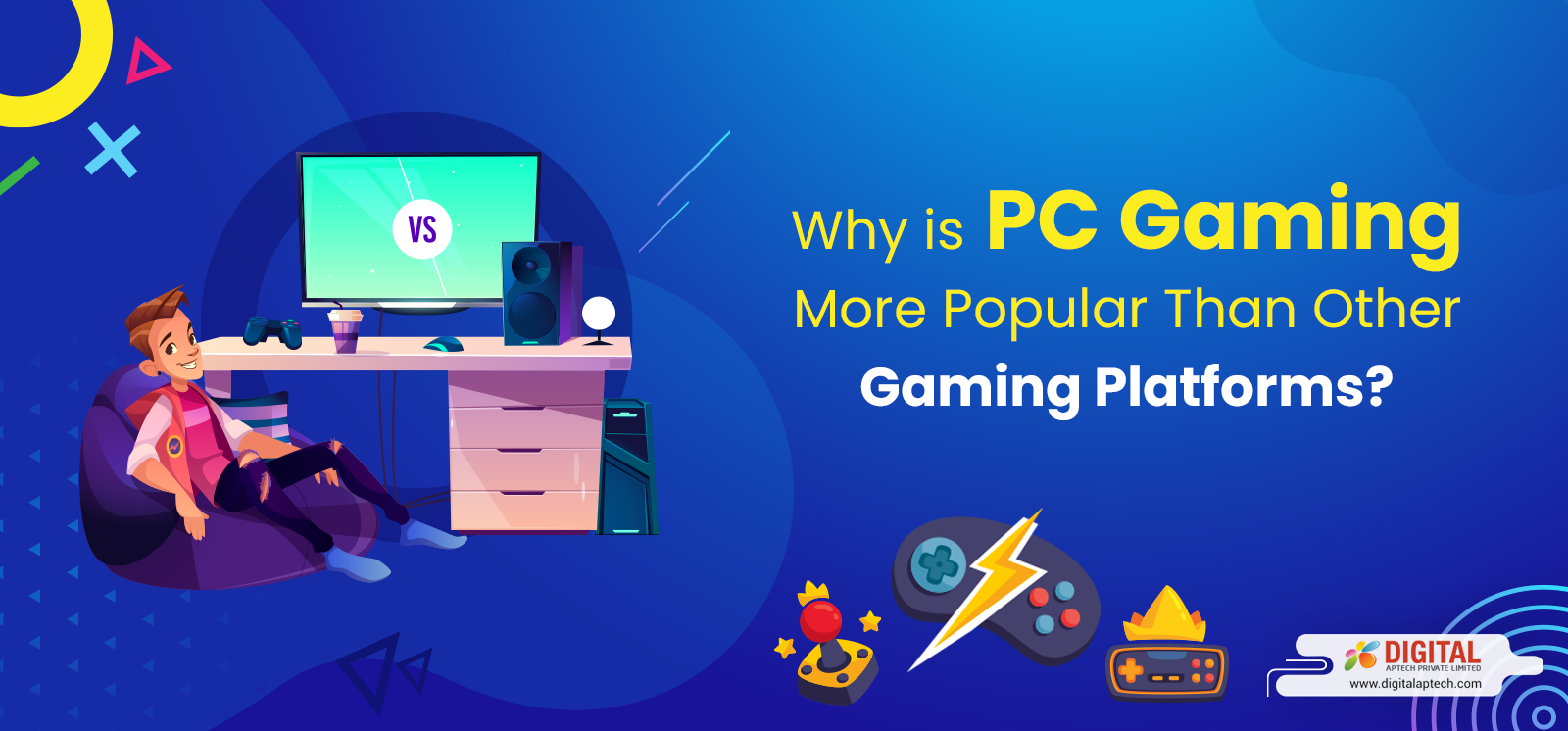 Why is PC Gaming More Popular Than Other Gaming Platforms?