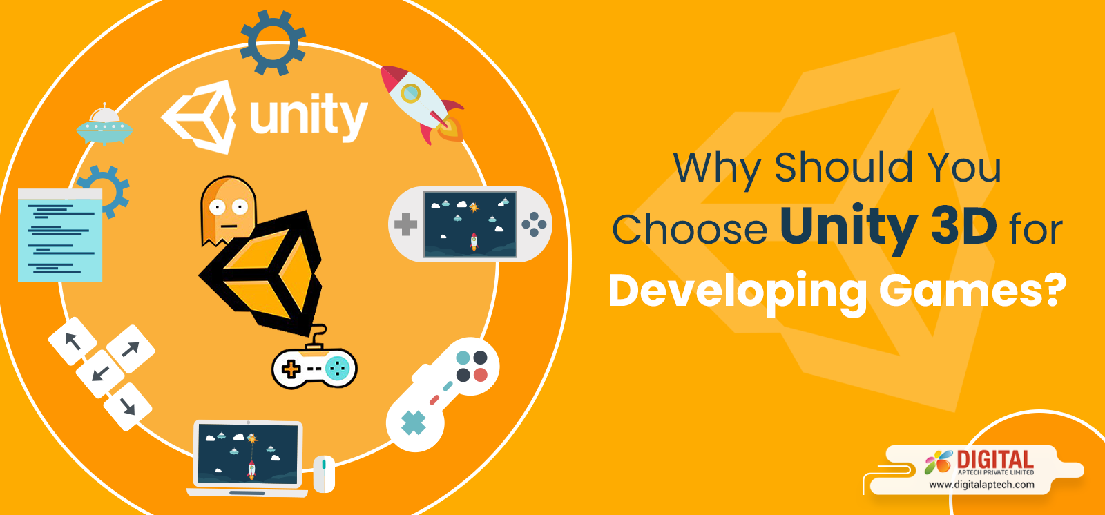 Reasons behind the Huge Popularity of Unity 3D