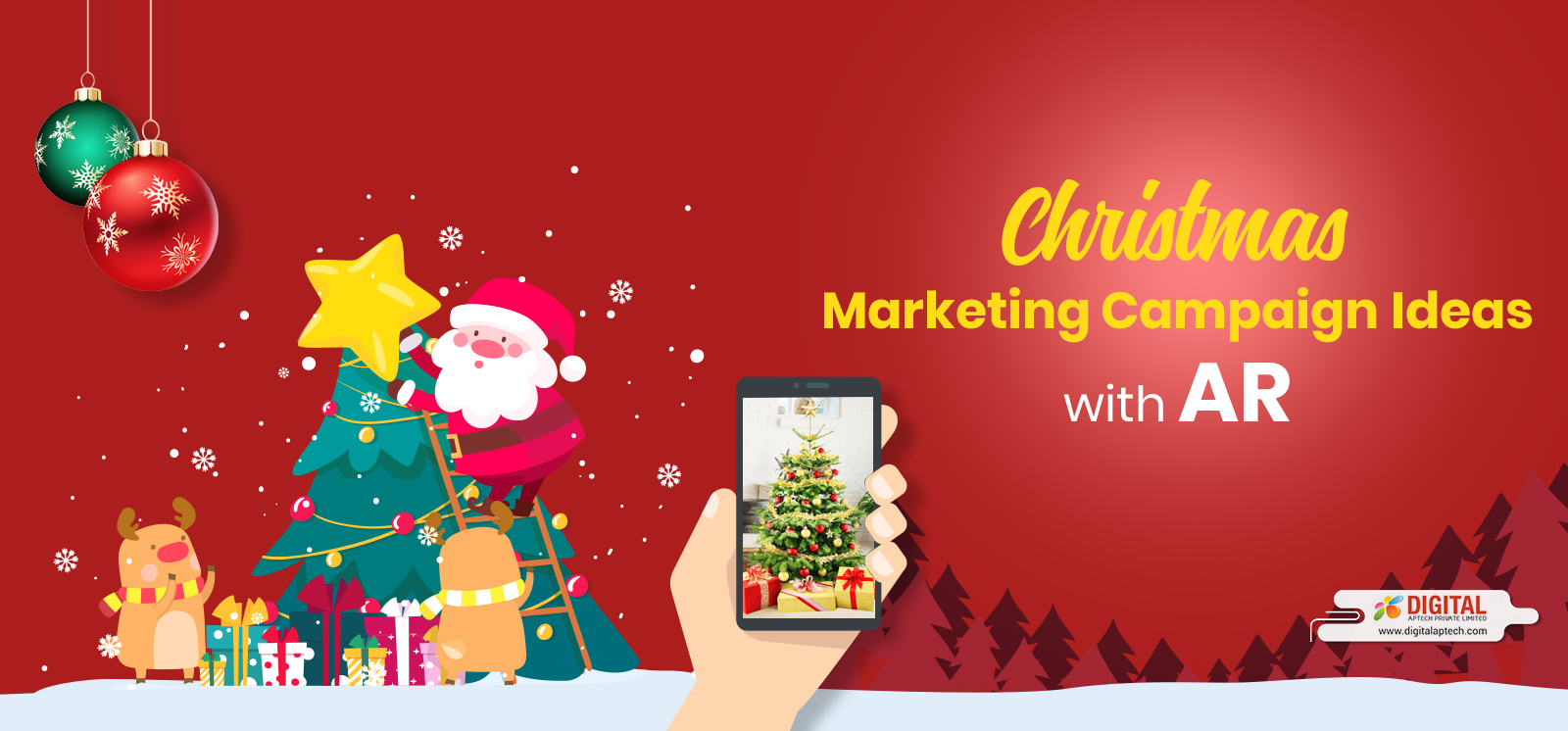 Add Magic to Your Christmas Marketing Campaigns with Augmented Reality