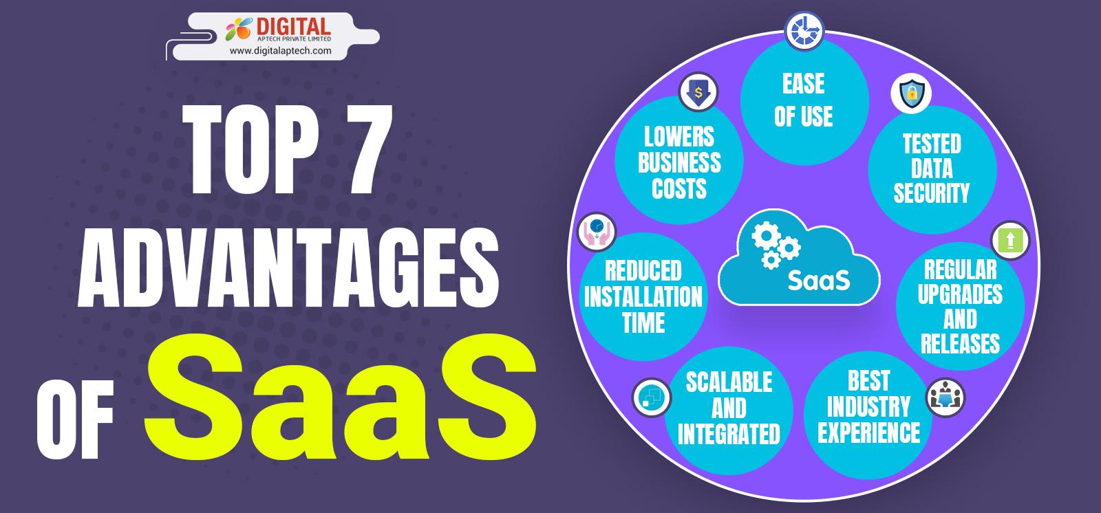 Top 7 Advantages of SaaS