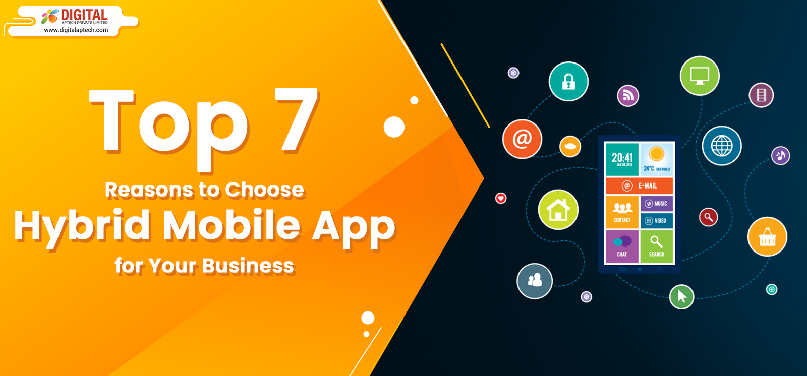 Top 7 Reasons to Choose Hybrid Mobile App for Your Business