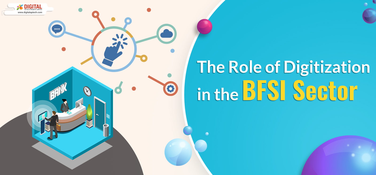 Role of Digitization in BFSI sector